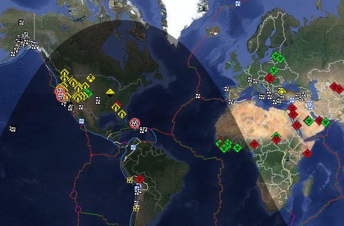 地震 リアルタイム 速報 世界
